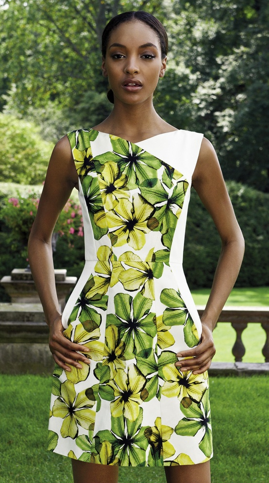 {Dress by Jason Wu, designer to the First Lady. Available at Saks.}