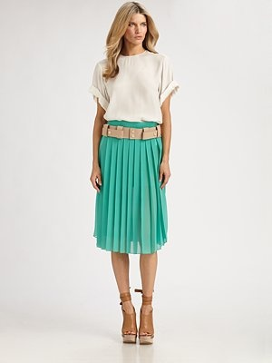 {One of my favorite designers, Chloe, which is available at Saks.}
