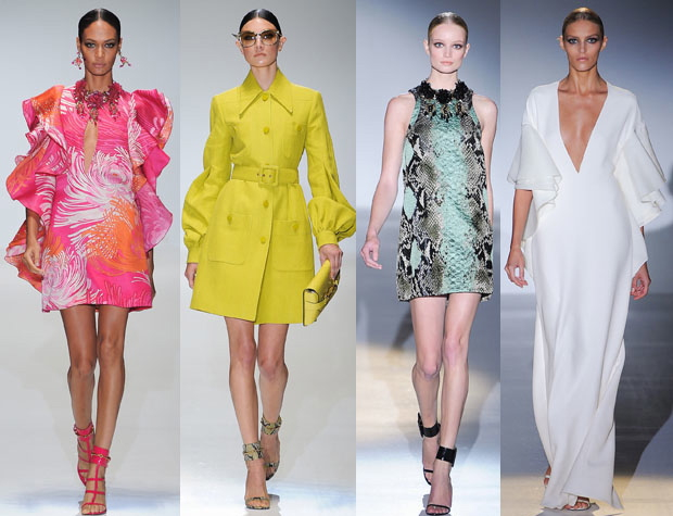 {Gucci set the course for all this season's trends at their Spring 2013 fashion show.}